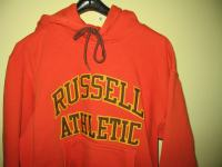 Russell Atheletic PRO COTTON Medium narančasta duksa hoody