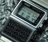 CASIO 676 DBC-610A Data Bank Stainless steel