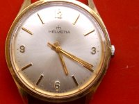 SAT HELVETIA POZLAĆENA 17 JEWELS CALL H 850