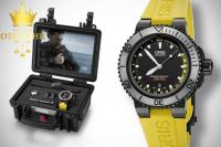 ORIS AQUIS DEPTH GAUGE - FULL SET - 46mm /  R1, RATE !!