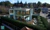 Modern & luxury villa with panoramic sea views! 90 meters to the beach