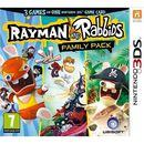 Rayman & Rabbids Family Pack (3 Games in One) (3DS)