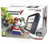 Nintendo 2DS Blue/Black 4GB + Mario Kart 7,NOVO!