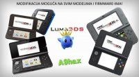 Prodaja i Modifikacija Nintendo 3DS / 3DS XL,New 3DS / 3DS XL i 2DS