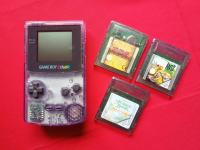 Nintendo Game Boy Color sa tri igre