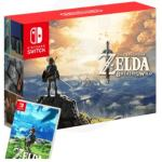 Nintendo Switch Neon Blue/Neon Red + Zelda:Breath of the Wild,NOVO!