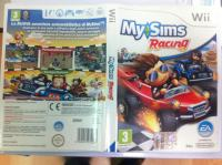 WII - My Sims Racing
