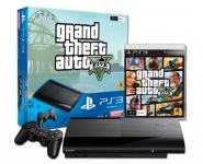 PS 3 12GB Super Slim+Grand Theft Auto V,novo u trgovini,račun i gar 1g