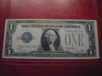 "AMERIKA 1$ 1928 ""FUNNY BACK""-SILVER CERTIFICATE-XF/aUNC"