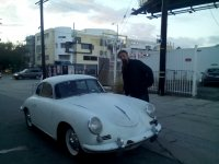 PORSCHE 356 1600 SUPER COUPE 1960g, original netaknut