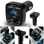 Auto Bluetooth FM Transmiter, USB, MP3, punjač