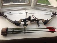 Složeni luk (compound bow) Hoyt Defiant (made in USA), LH
