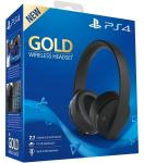Sony Gold Wireless Headset - bežične Sony PS4/PS4 Pro Slušalice