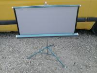 Vintage Da-Lite Silver-Lite Projection Screen
