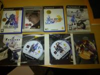 Prodajem orginalne igre za Playstation 2(final fantasy,xenosaga,tekk)