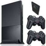 Playstation 2 + Mamory card + 2 joysticka