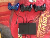 Playstation 2, ultra slim model+ 2 orginal igre+jostik