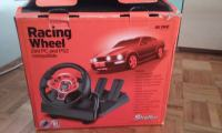Prodajem Playstation 2+Acme racing wheel volan+8 igrica