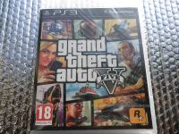ps3 gta 5 ps3 grand theft auto 5 ps3 NOVO u CELOFANU