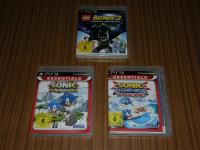 PS3 IGRE LEGO BATMAN 3 BEYOND GOTHAM, SONIC GENERATIONS I SONIC RACING