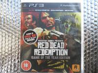 ps3 red dead redemption goty ps3 + MAPA
