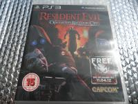 ps3 resident evil operation raccoon city ps3
