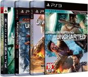 UNCHARTED 1, 2, 3 (PS3)