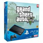 NOVO!!! PS3 SUPER SLIM 500GB + Grand Theft Auto 5, samo 2390 kn!!!