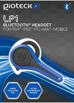 Gioteck LP-1 Bluetooth Headset (PS4/PS3/PC)