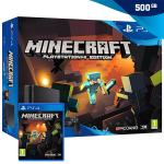 PlayStation 4 500GB Slim (PS4) + Minecraft,NOVO!