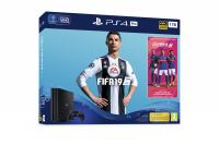 PLAYSTATION 4 PRO 1TB ● FIFA 19 STANDARD EDITION + 14 DAYS PS PLUS ●