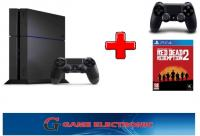 PLAYSTATION 4 - PS 4 500 GB IZL. + SONY DUAL4 + RED DEAD REDEMPTION 2