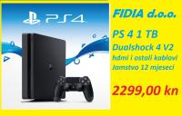 ⭐️⭐️ PLAYSTATION 4 SLIM 1 TB - NOVO !!! ⭐️⭐️