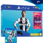 PlayStation 4 1TB Slim (PS4) + FIFA 19,NOVO!