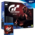 PlayStation 4 500GB Slim (PS4) + Gran Turismo Sport (GT Sport),NOVO!