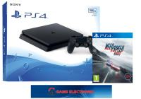 PS4- PLAYSTATION 4 SLIM 500GB + NFS RIVALS - NOVO - 12. MJ. JAMSTVO