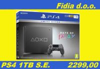 ⭐️⭐️ PS4 Slim 1TB Steel Black Special Edition - Novo !!! ⭐️⭐️