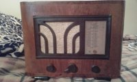 PHILIPS RADIO SUPER OCTODE 510A 1935 GODINA