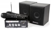Tronios FENTON AV380BT AMPLIFIER KIT WITH SPEAKERS USB/SD/BT