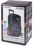 "Tronios FENTON FT12LED Active Speaker 12"" 700W"
