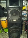Yamaha S iV 115 2 x 500/1000w made in USA