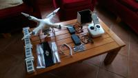 Phantom 3 professional, 2 baterije, kofer