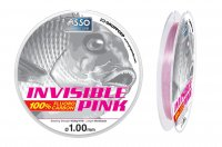ASSO INVISIBLE PINK - 100% FLUOROCARBON - SEALTECH MARINE!