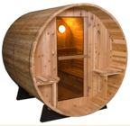 Finska sauna model Bačva 7+1FT