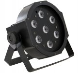 INVOLIGHT SLIMPAR784 - 7 x 8-watt RGBW 4-in-1 LED