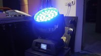 LED MOVING HEAD WASH 36 x 10W - RGBW - ZOOM - TOUCH SCREEN