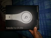 Beats by Dr Dre Studio silver edition!