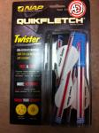 Za strijele NAP QUIKFLETCH TWISTER W/W/W 60-125-USA