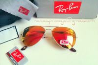 RAY BAN AVIATOR-MIRROR RED-PRAVE SLIKE!!!