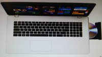 "Laptop NOVI MODEL 17,3"" AS X751MA-TY195D, bijel DOSTAVA MASTER AMEX"